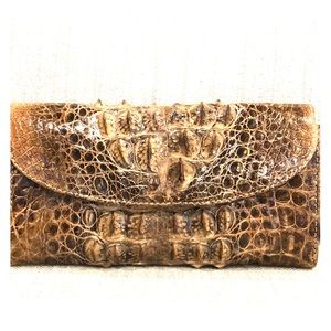 Authentic crocodile wallet